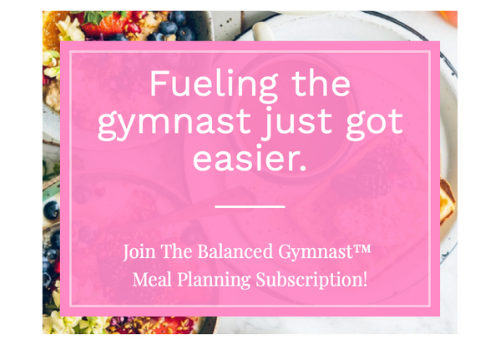 Gymnast Meal Planning Subscription